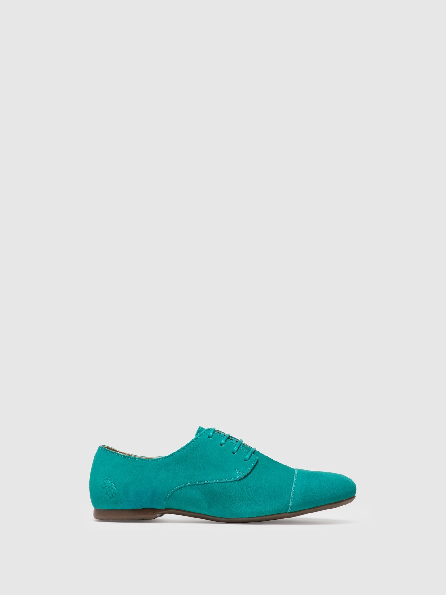 Fly London Green Derby Shoes