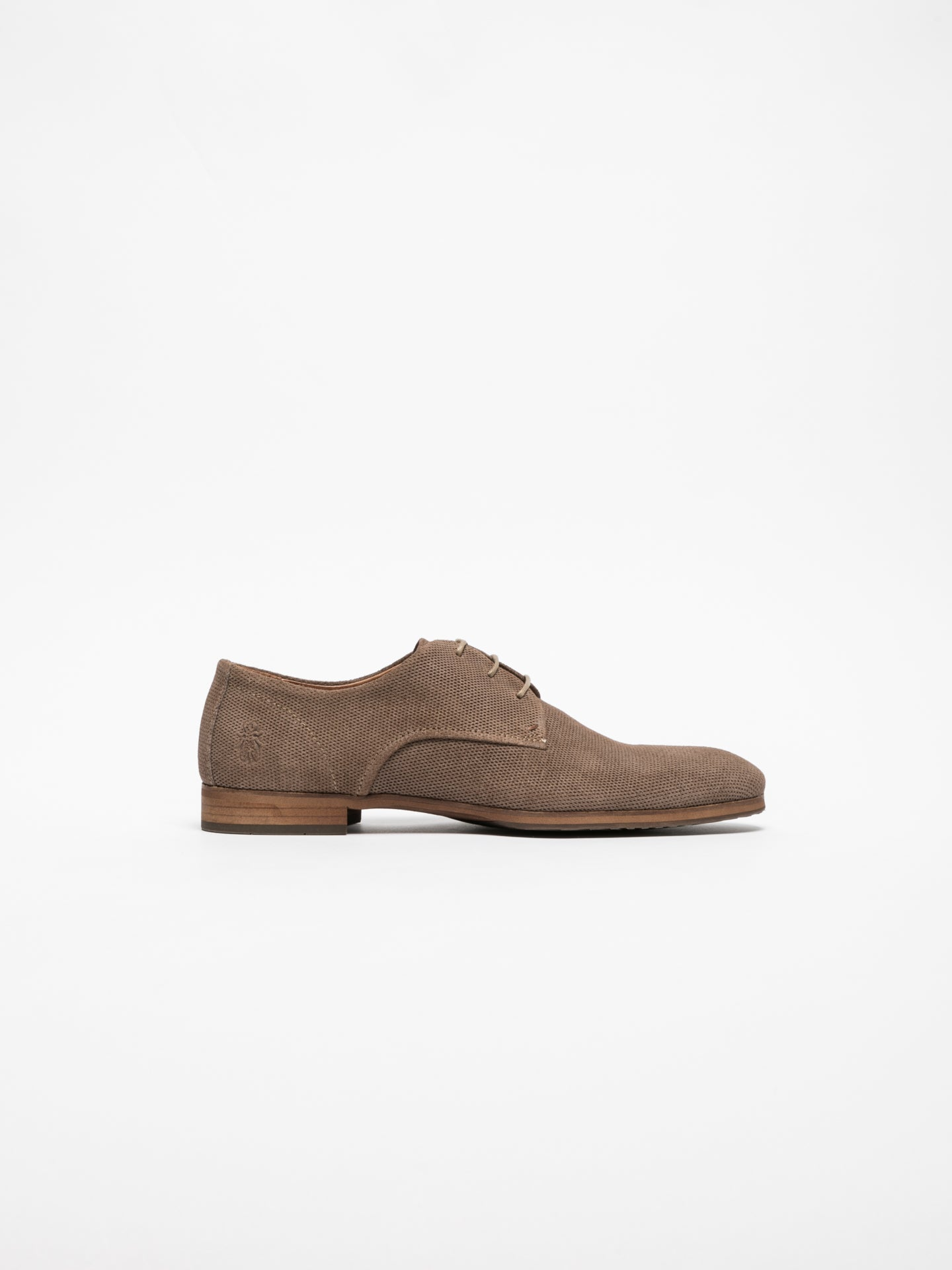 Fly London Gray Derby Shoes