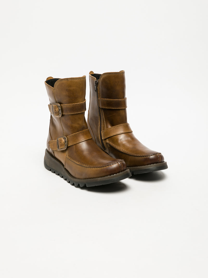 Peru Zip Up Ankle Boots