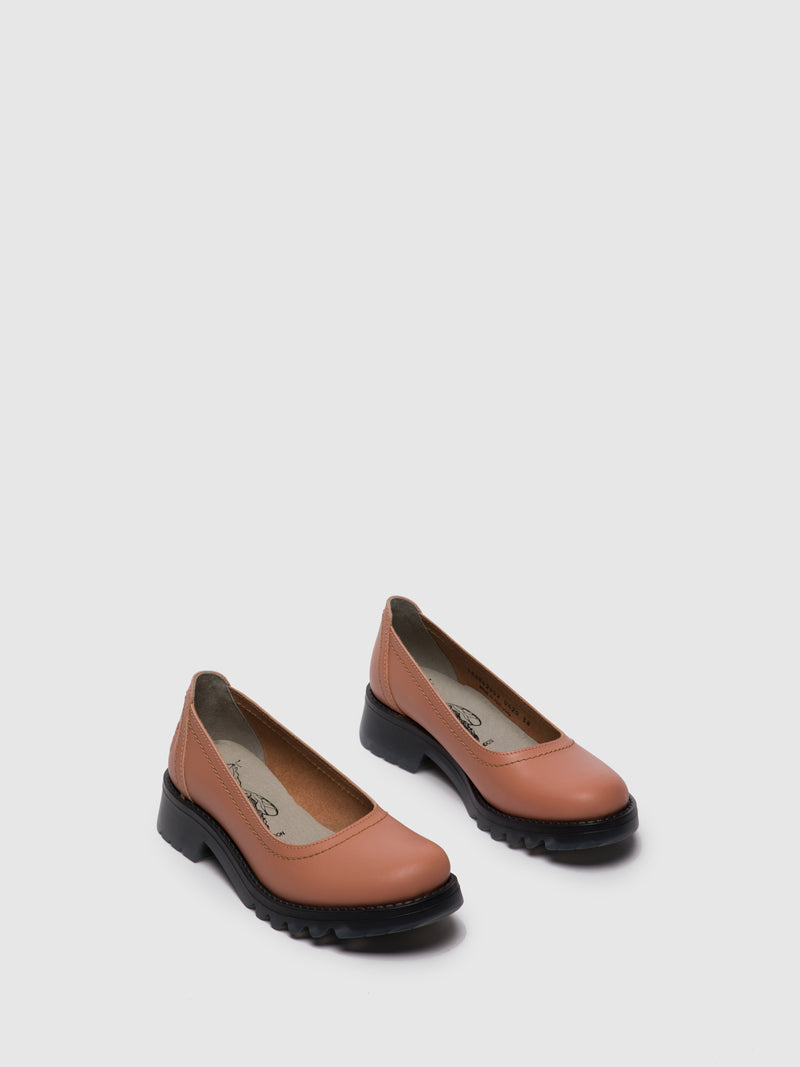 Pink Round Toe Shoes