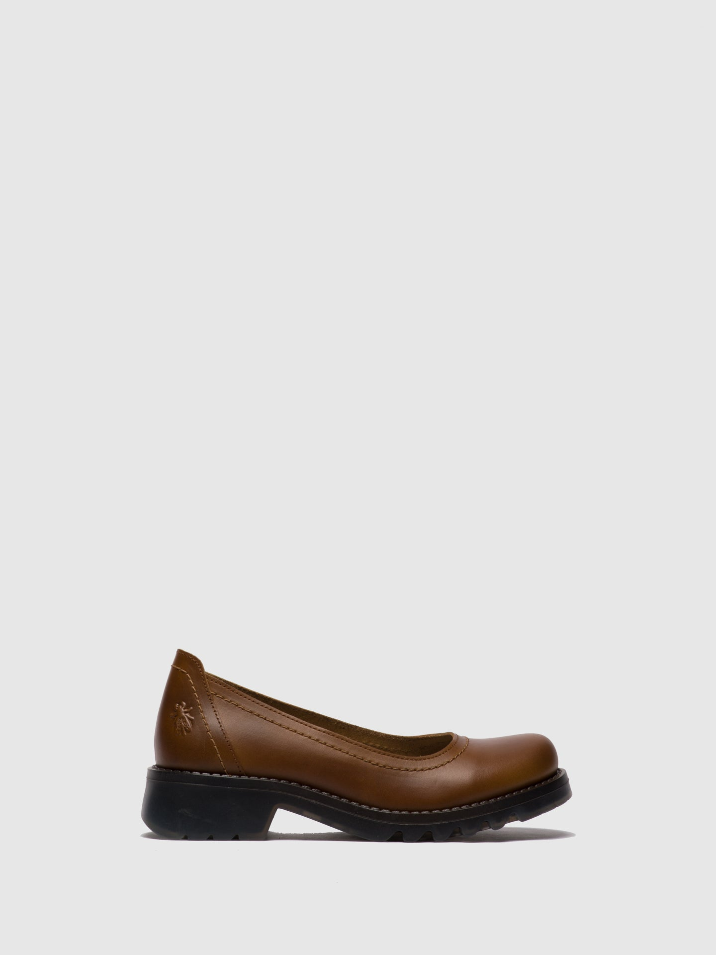 Fly London Camel Round Toe Shoes