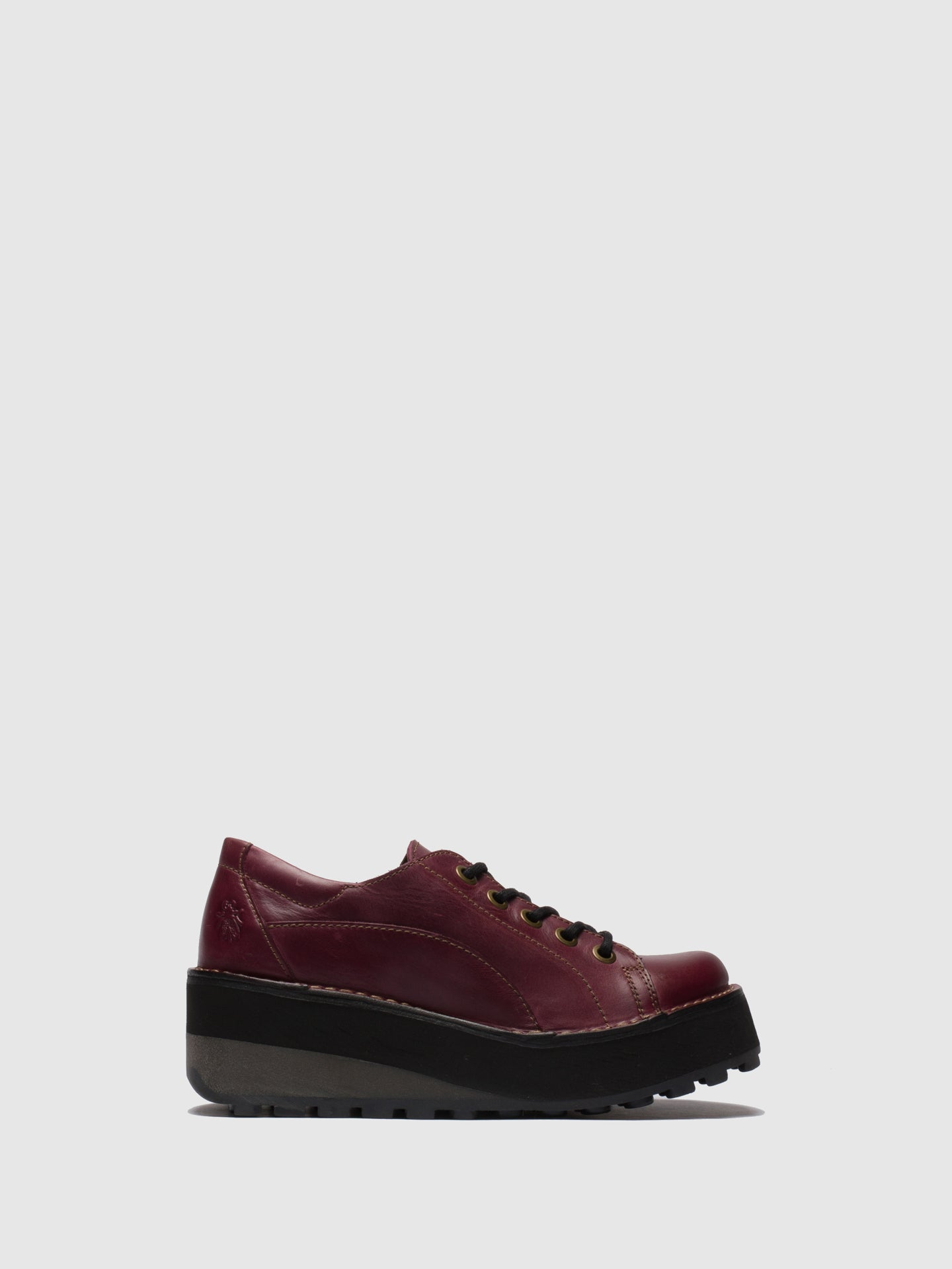 Fly London Purple Lace-up Shoes