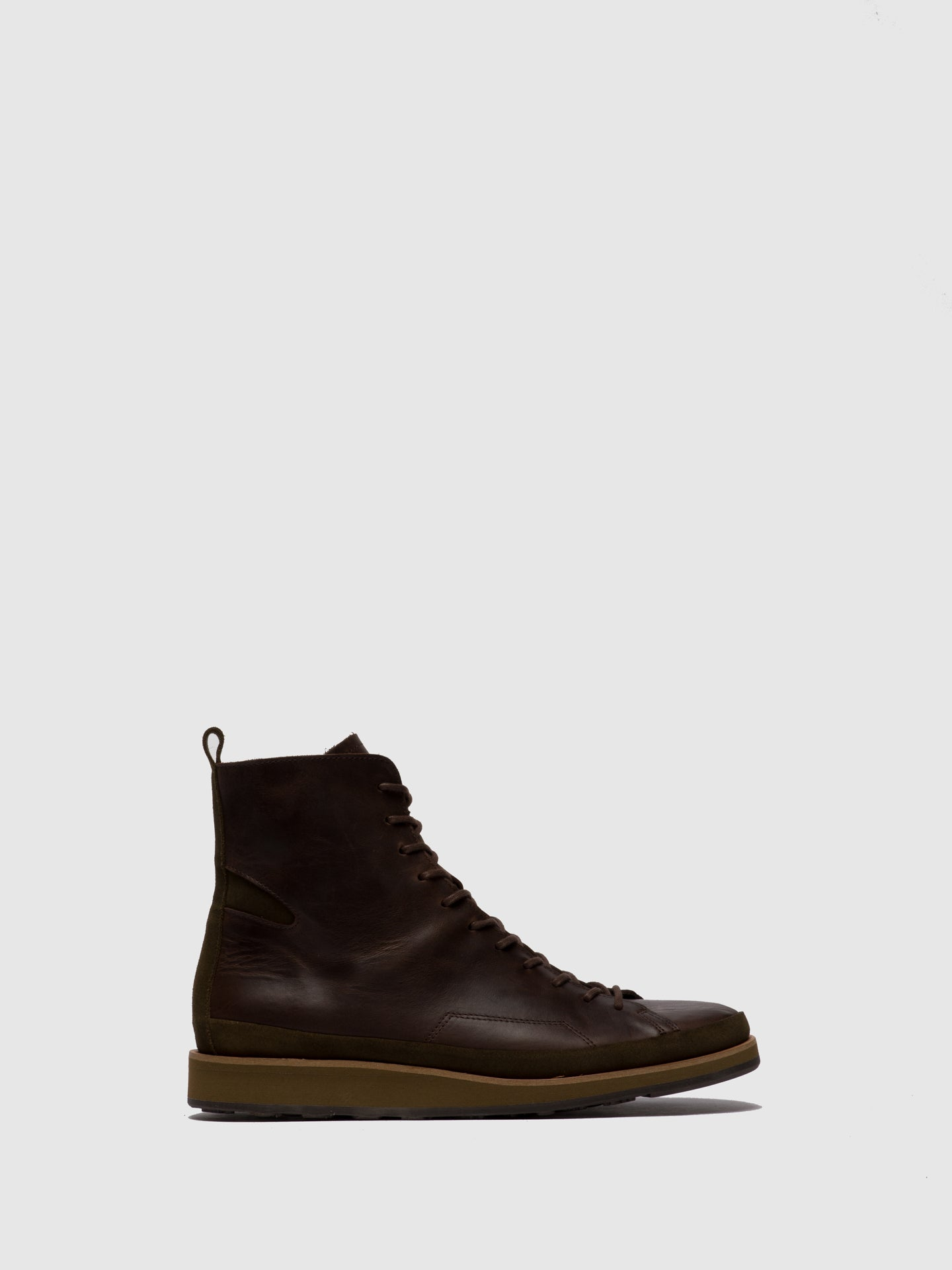 Fly London Lace-up Ankle Boots JOKA700FLY ECO/OILSUEDE(VEGETAL) MOCCA/SLUDGE