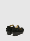 Fly London DarkGray Wedge Shoes