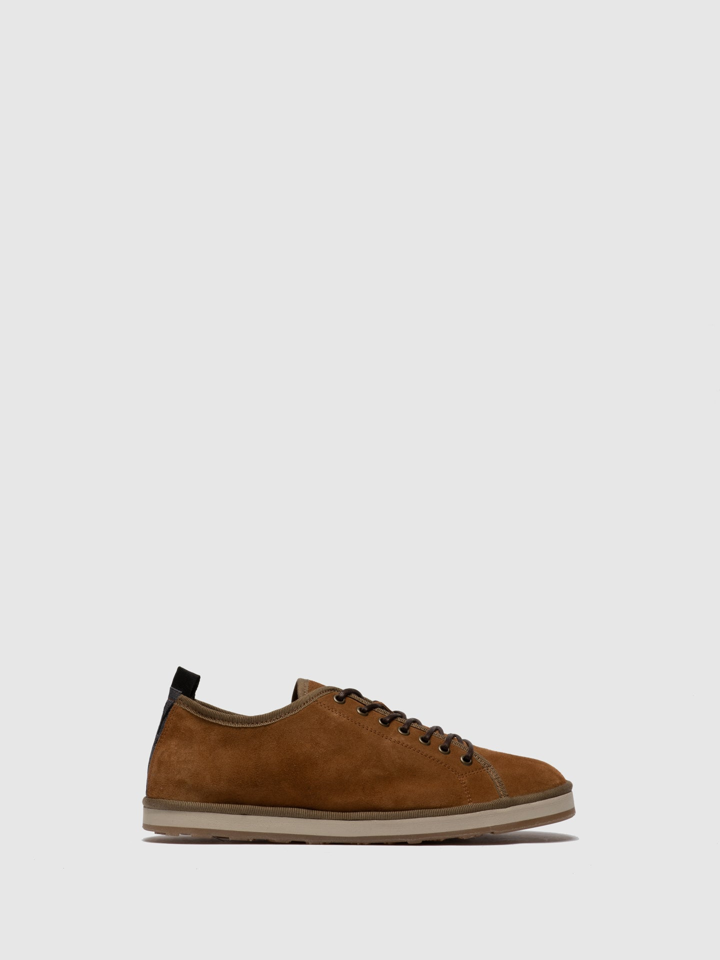 Fly London Tan Lace-up Shoes
