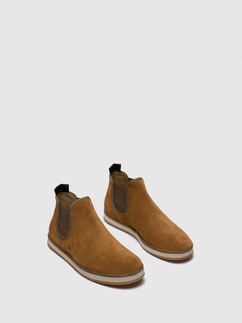 Tan Chelsea Ankle Boots