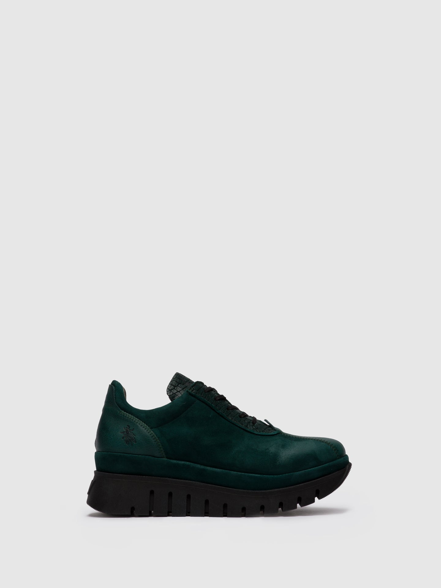 Fly London Lace-up Trainers BESI203FLY VERONA/CROCO/SILKY GREEN FOREST