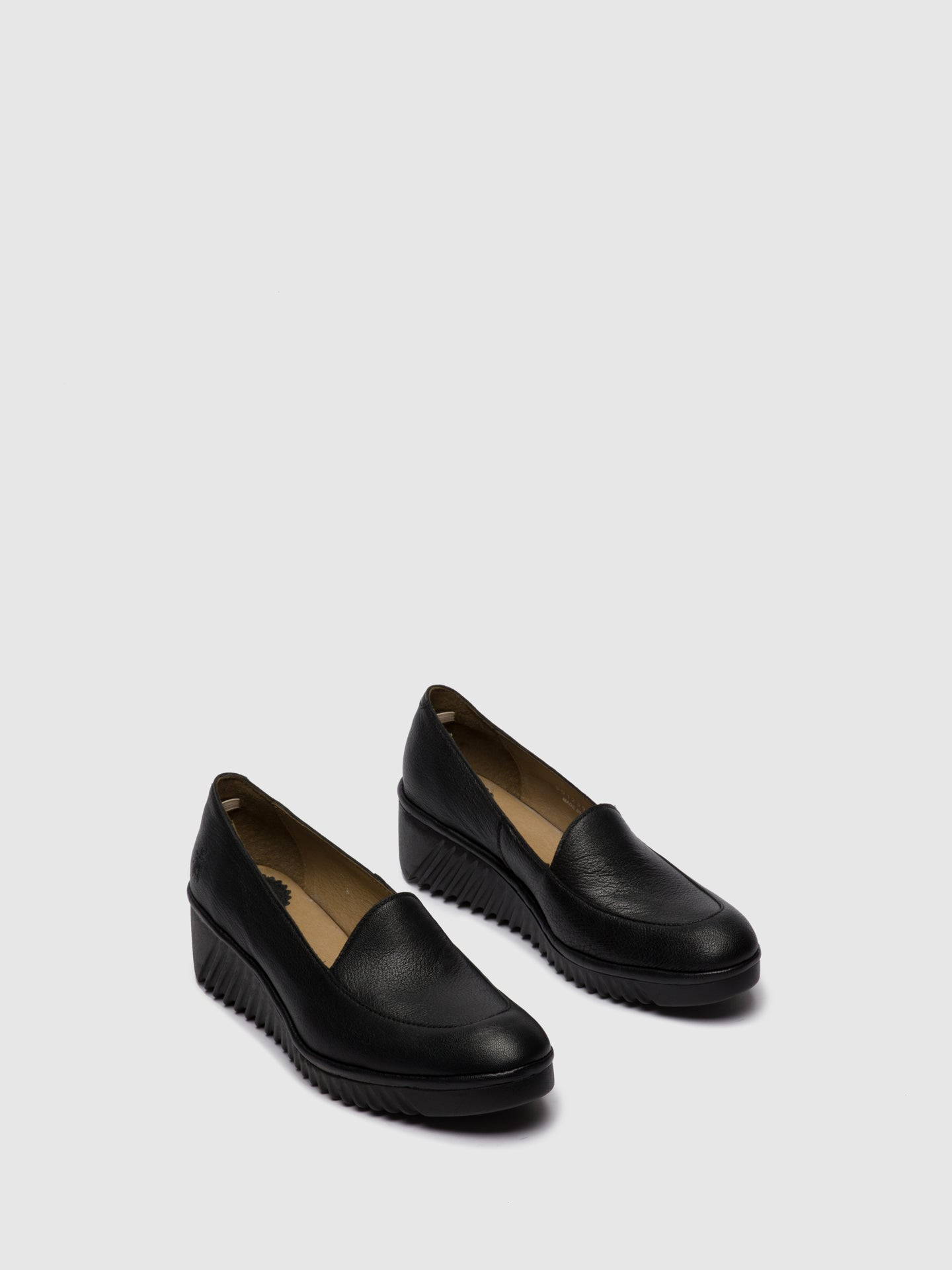 Fly London Loafers Shoes LUAN239FLY MOUSSE BLACK