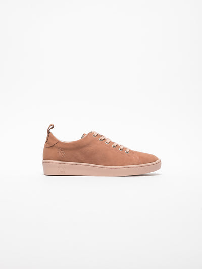 Fly London Pink Lace-up Trainers