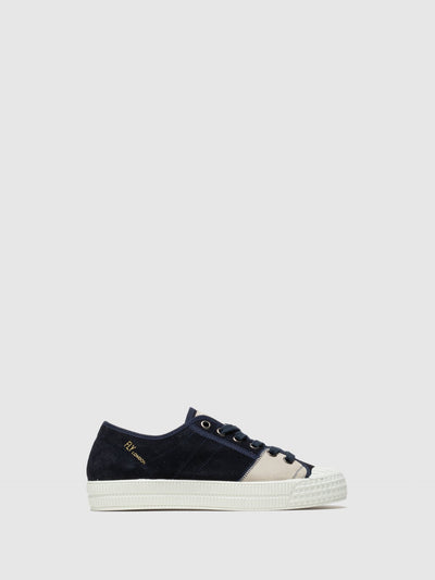 Fly London Navy Low-Top Trainers
