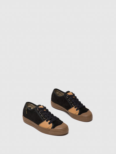 Fly London Black Low-Top Trainers