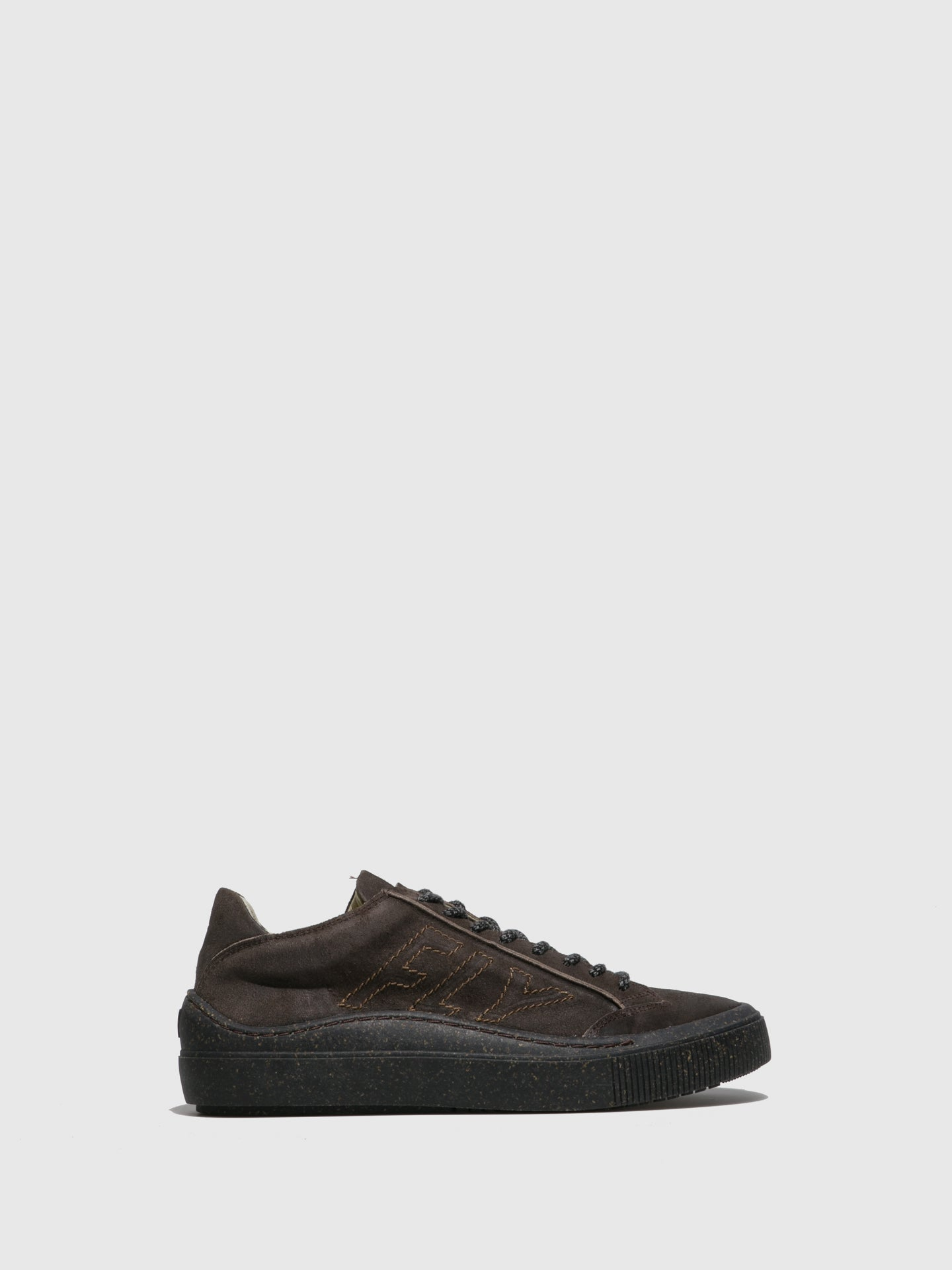 Fly London Lace-up Trainers SEPA355FLY SUEDEVEGETALBEAT ASFALT