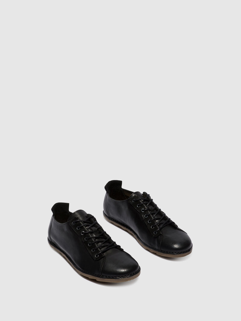 Black Lace-up Shoes