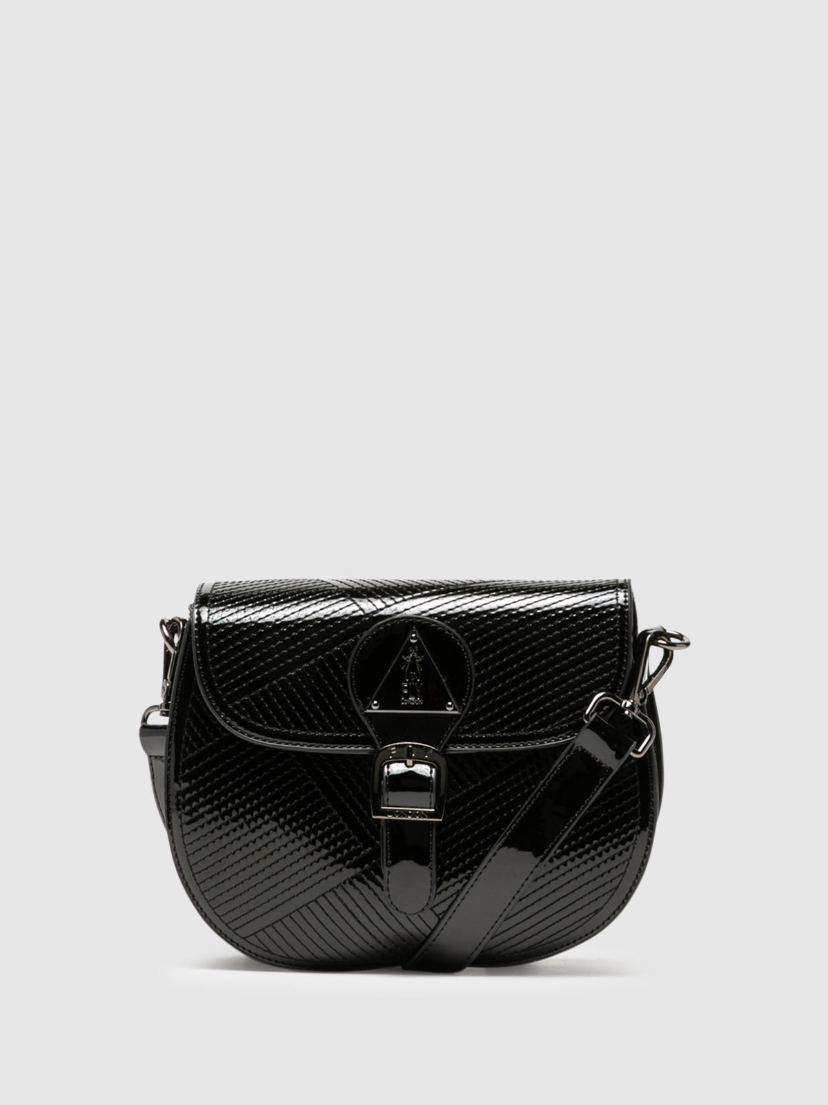 Fly London Gloss Black Mini Bag