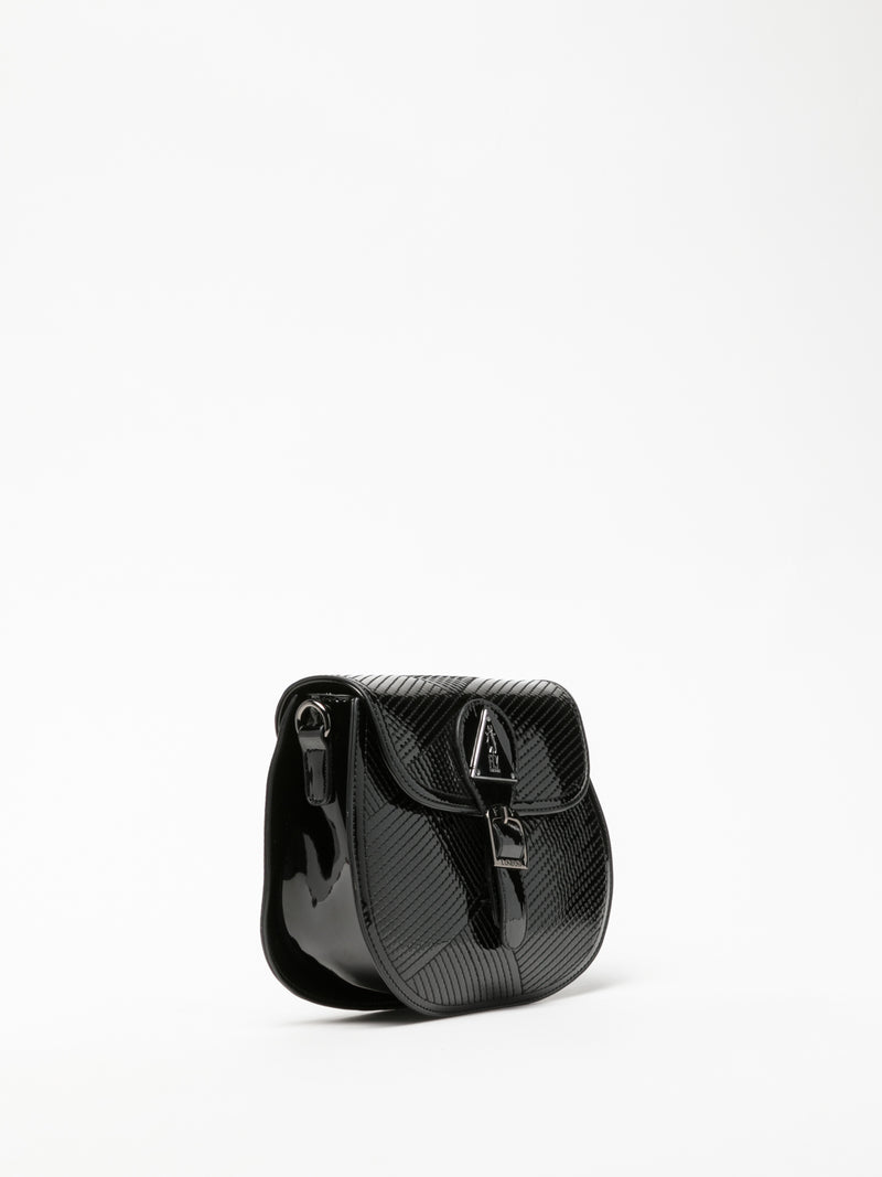 Gloss Black Mini Bag