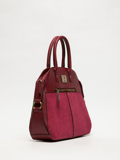 Fly London DarkRed Tote Bag