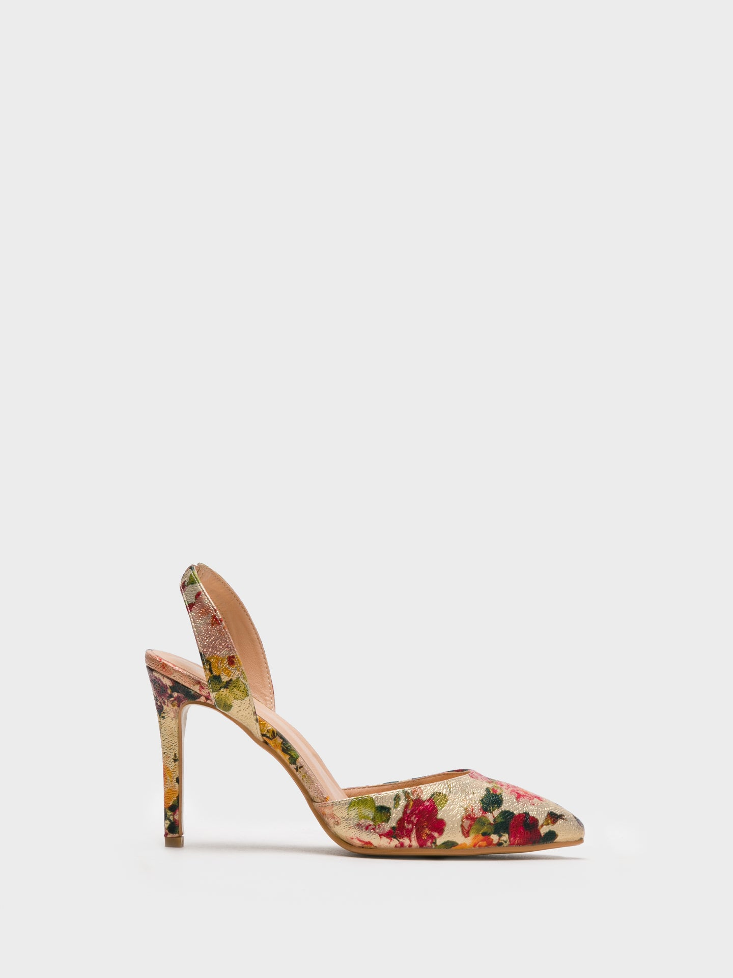 Foreva Multicolor Sling-Back Pumps Shoes