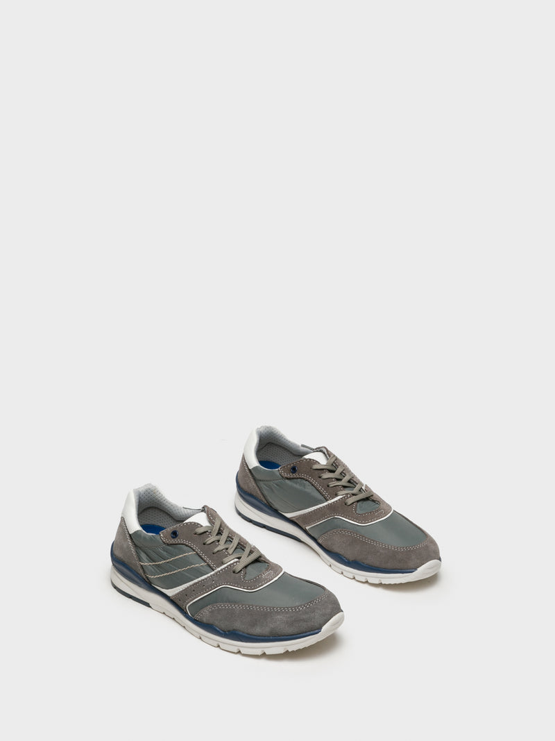 Foreva Gray Lace-up Trainers