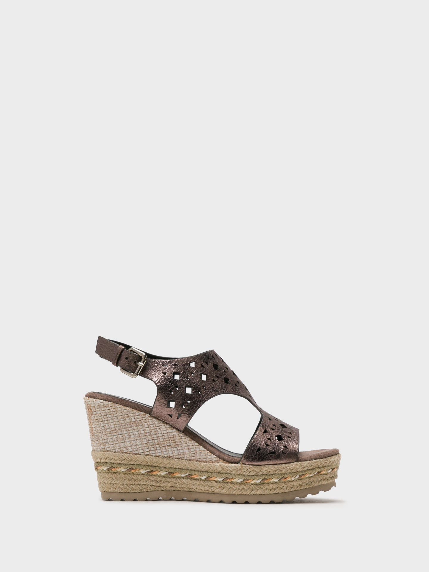 Foreva Silver Wedge Sandals
