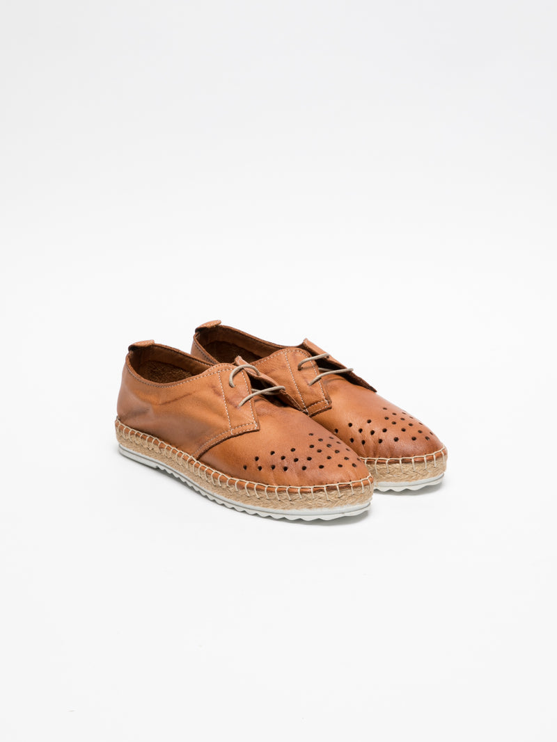 Brown Lace-up Shoes