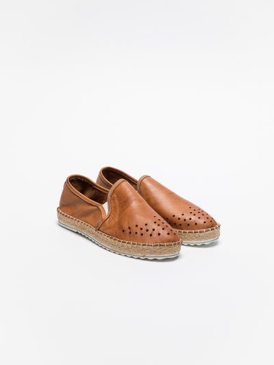 Foreva Brown Slip-on Espadrilles