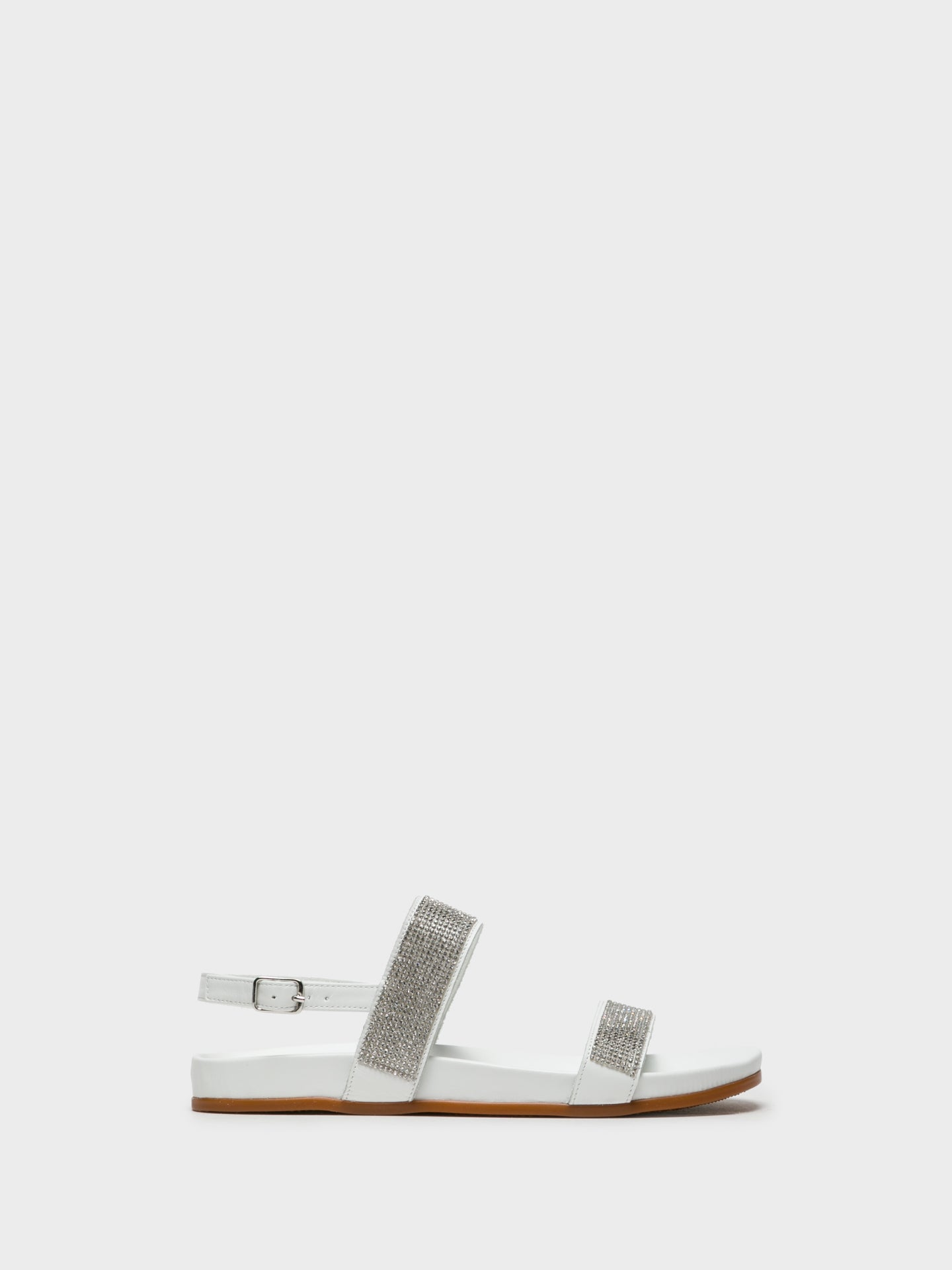 Foreva White Sling-Back Sandals
