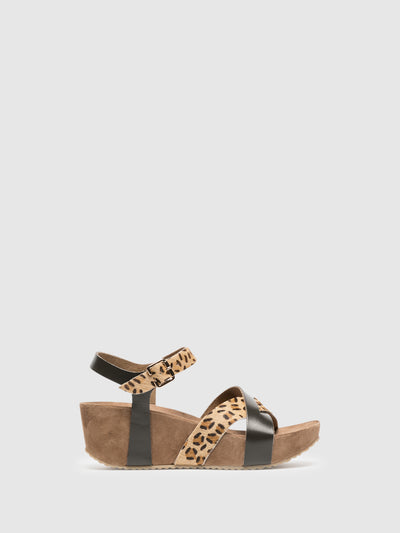 Foreva Brown Platform Sandals