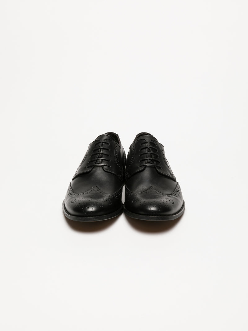 Foreva Black Derby Shoes