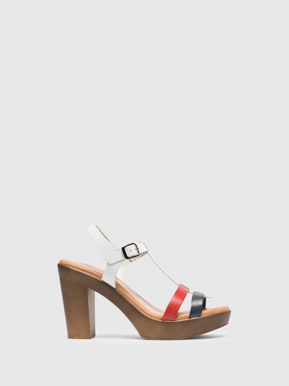 Foreva Multicolor Platform Sandals