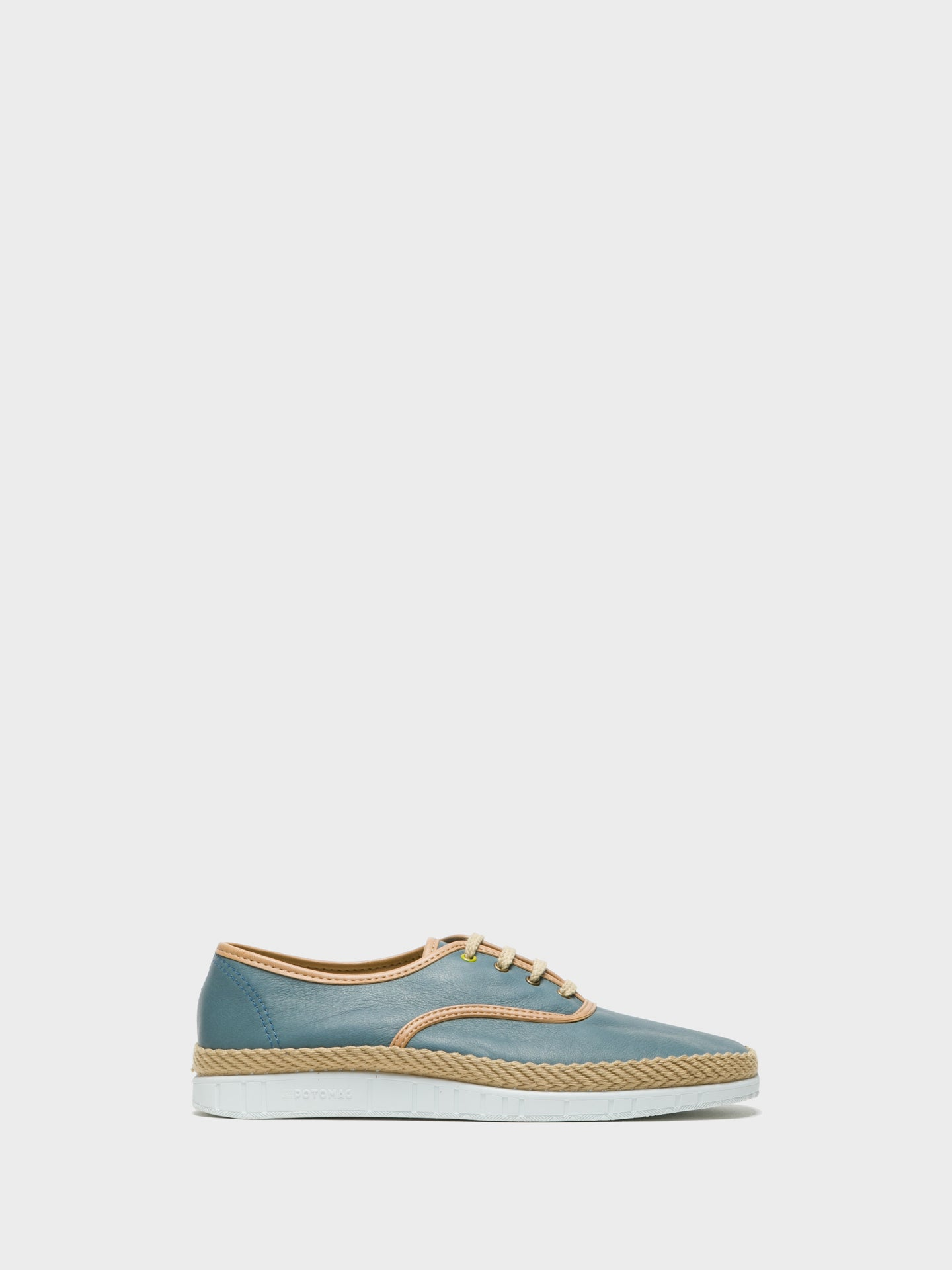 Foreva Blue Lace-up Shoes