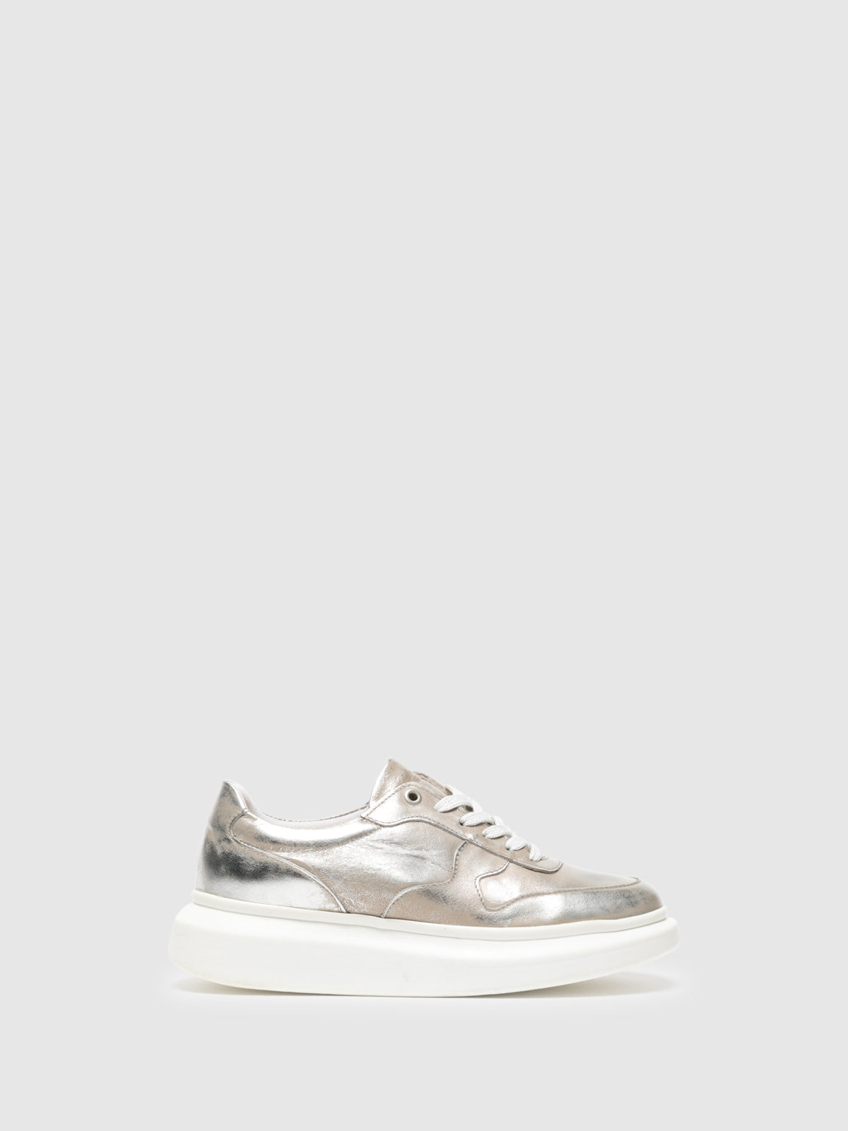 Foreva Silver Platform Trainers