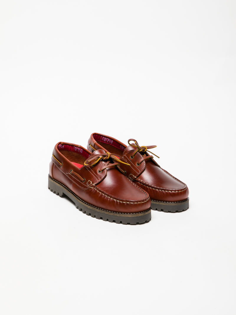 Foreva DarkRed Nautical Shoes
