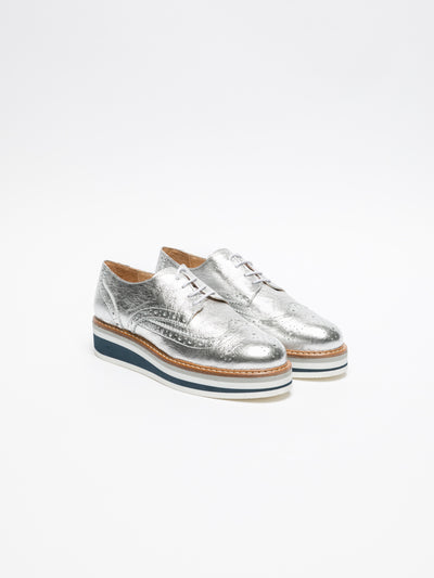 Foreva Silver Platform Shoes