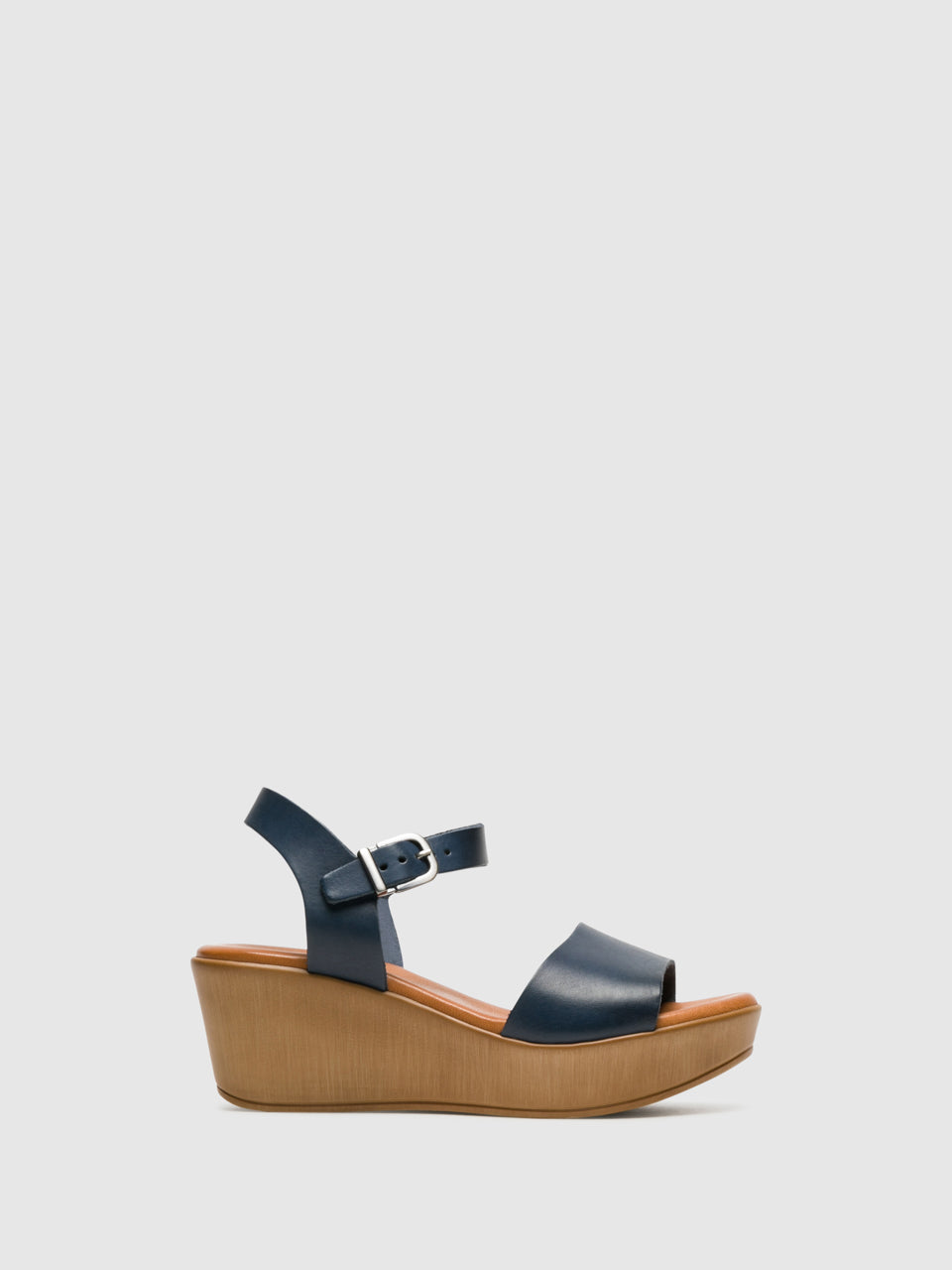 Foreva Blue Buckle Sandals
