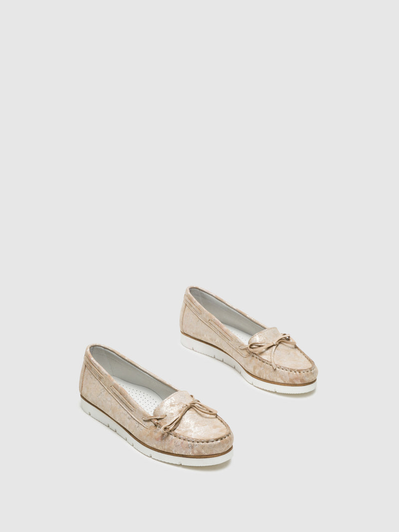 Beige Nautical Shoes