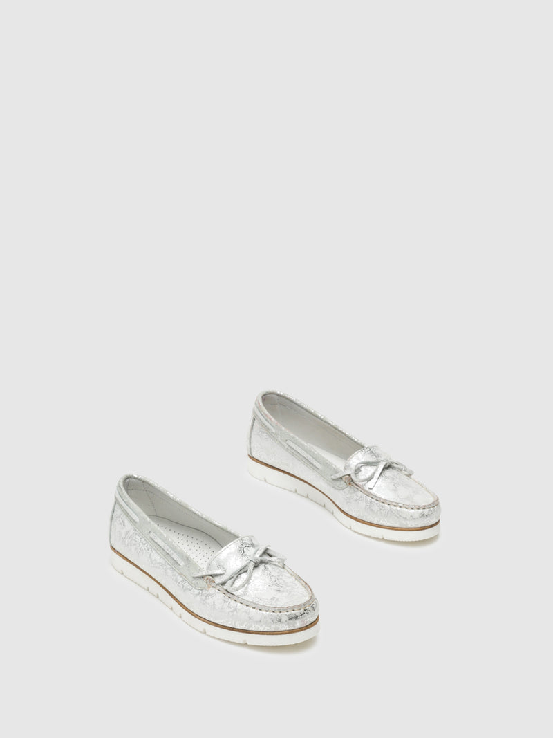 Foreva Silver Nautical Shoes