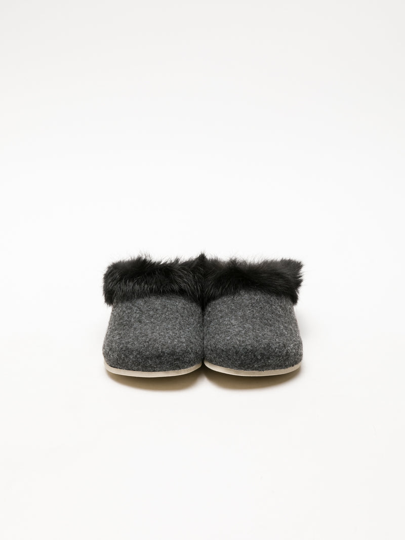 Gray Fur Slides