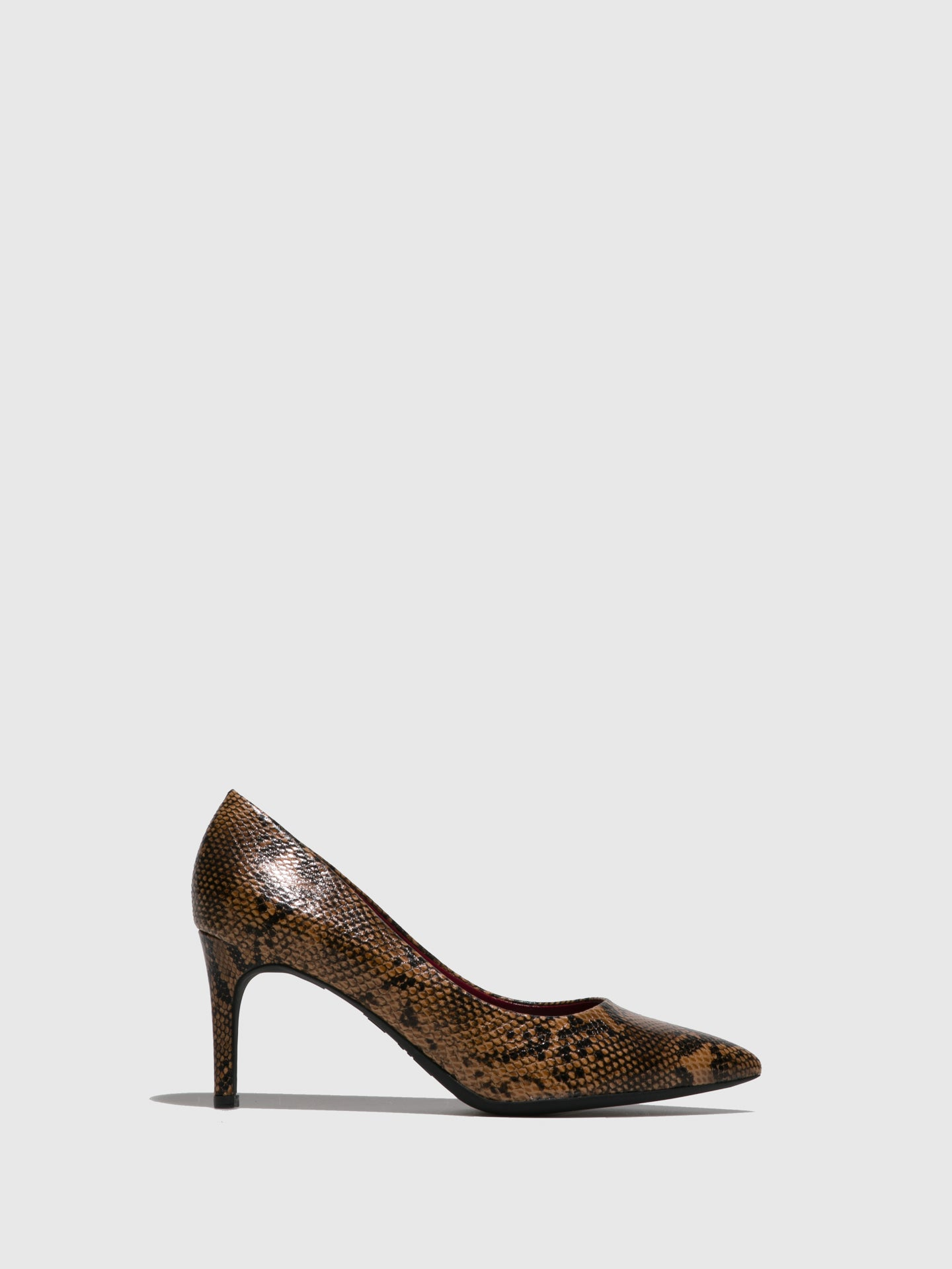 Francesco Milano Brown Pointed Toe Shoes