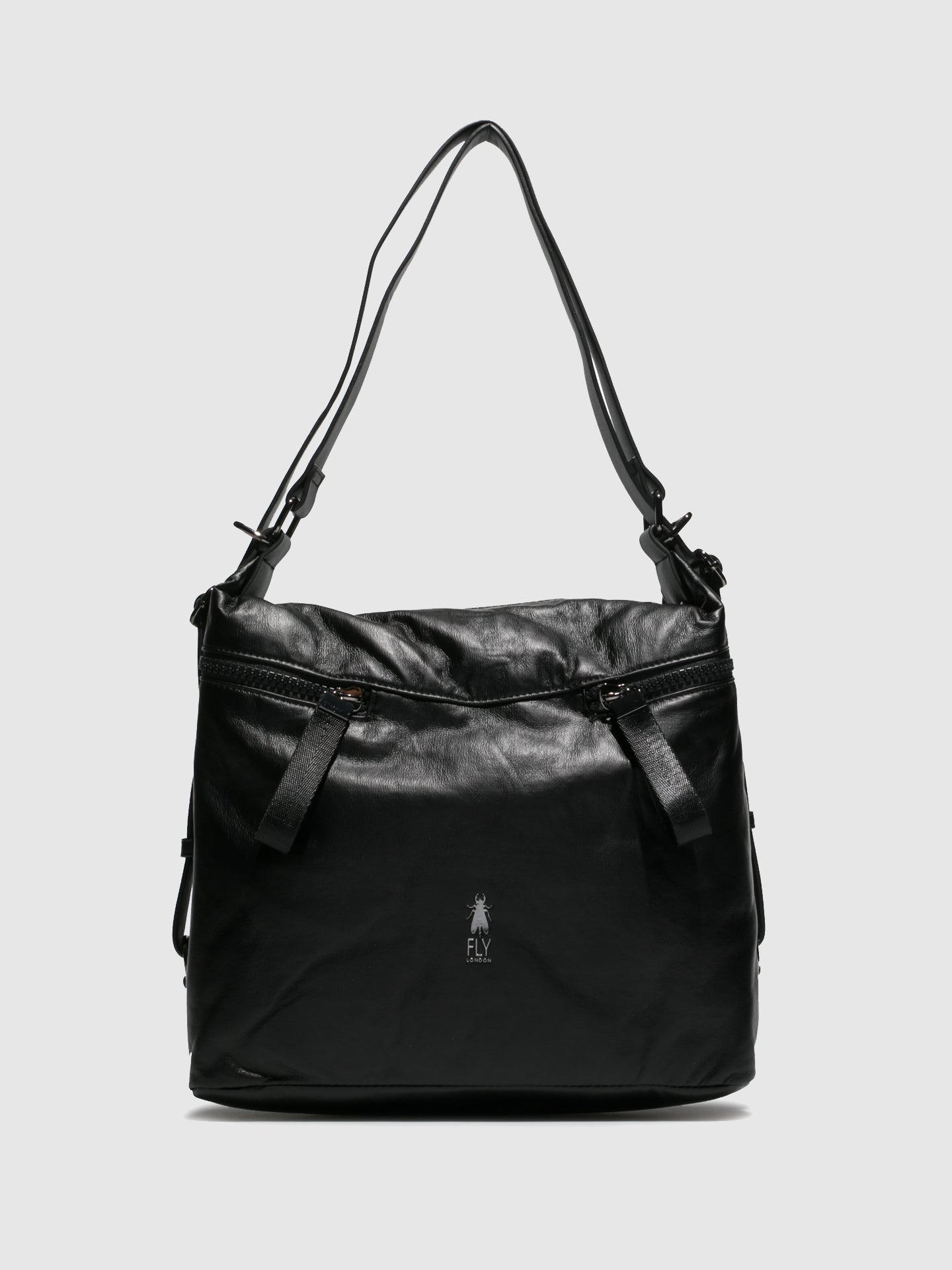 Fly London Shoulder Bags ARYA706FLY ATWOOD BLACK