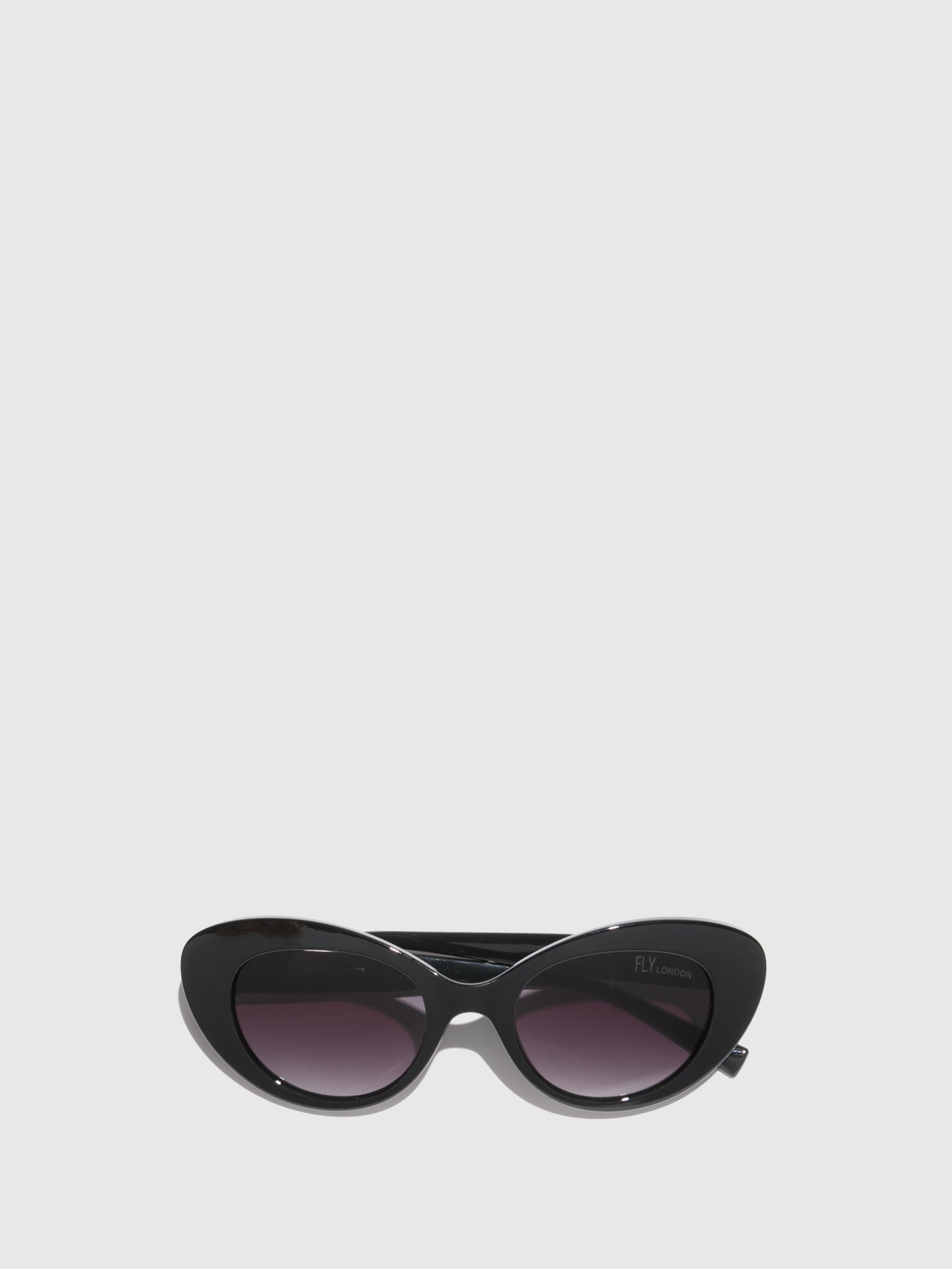 Fly London Black Cat Eye Sunglasses