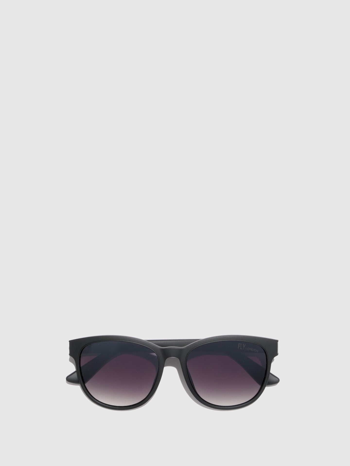 Fly London Black Wayfarer Style Sunglasses