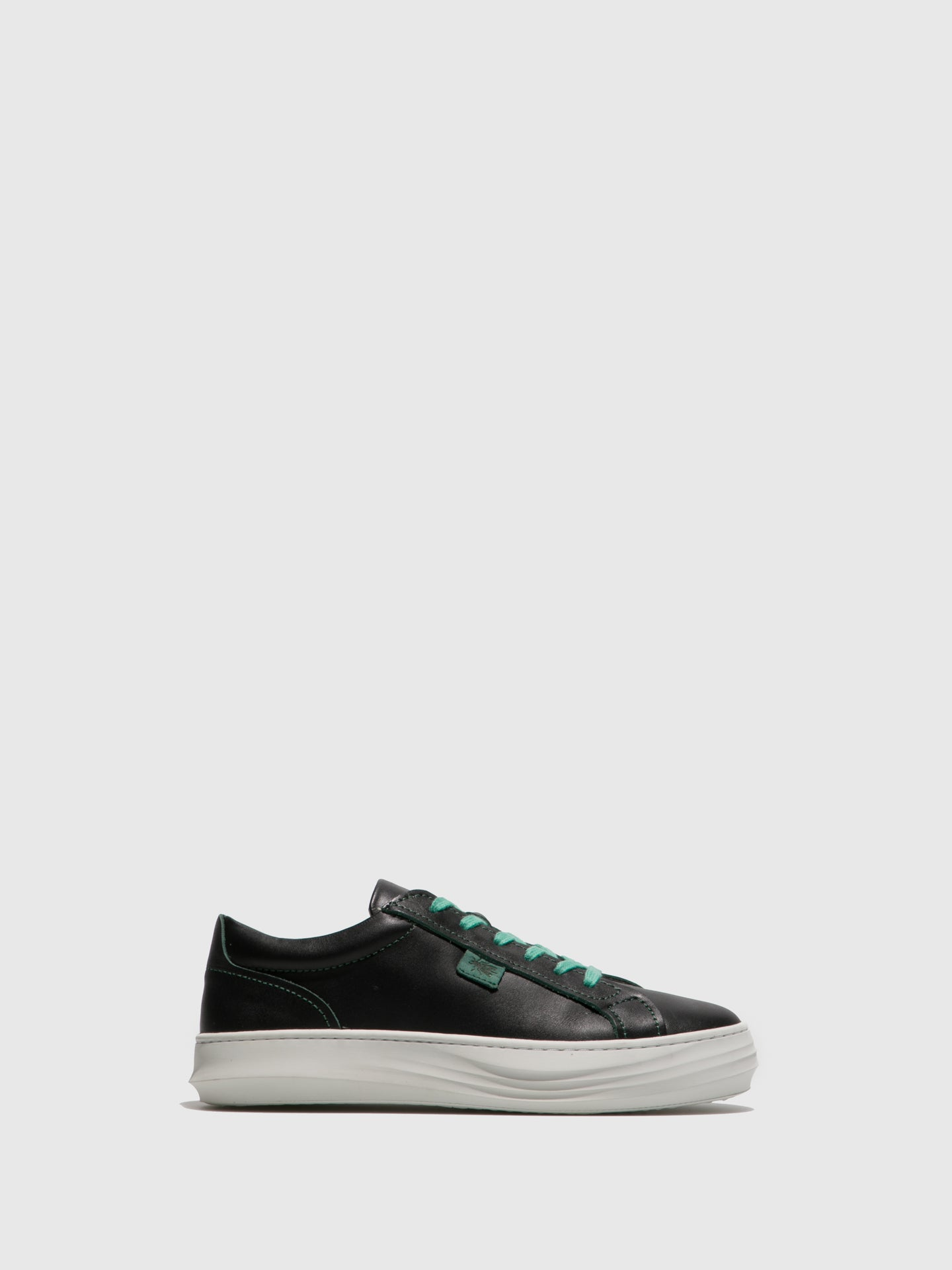 Fly London Black Lace-up Trainers