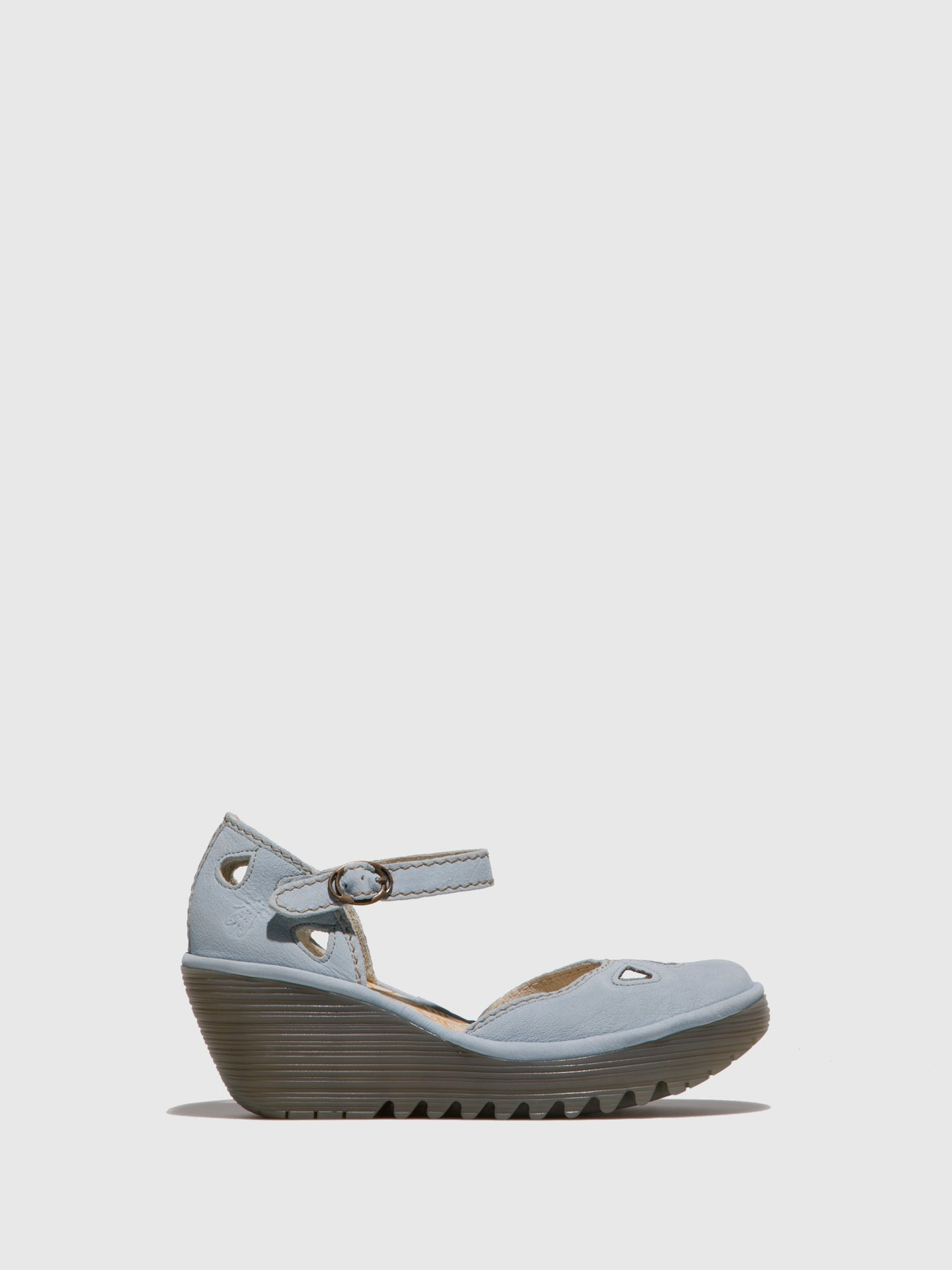 Fly London SkyBlue Wedge Sandals