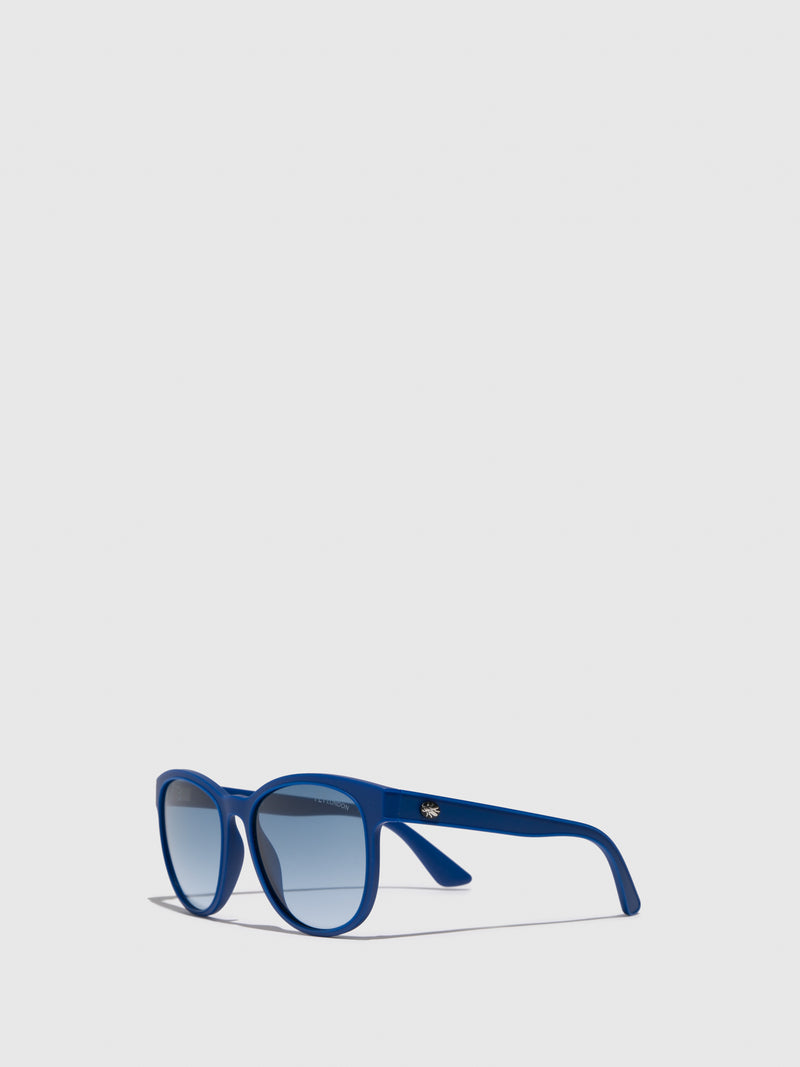 Fly London Blue Wayfarer Style Sunglasses