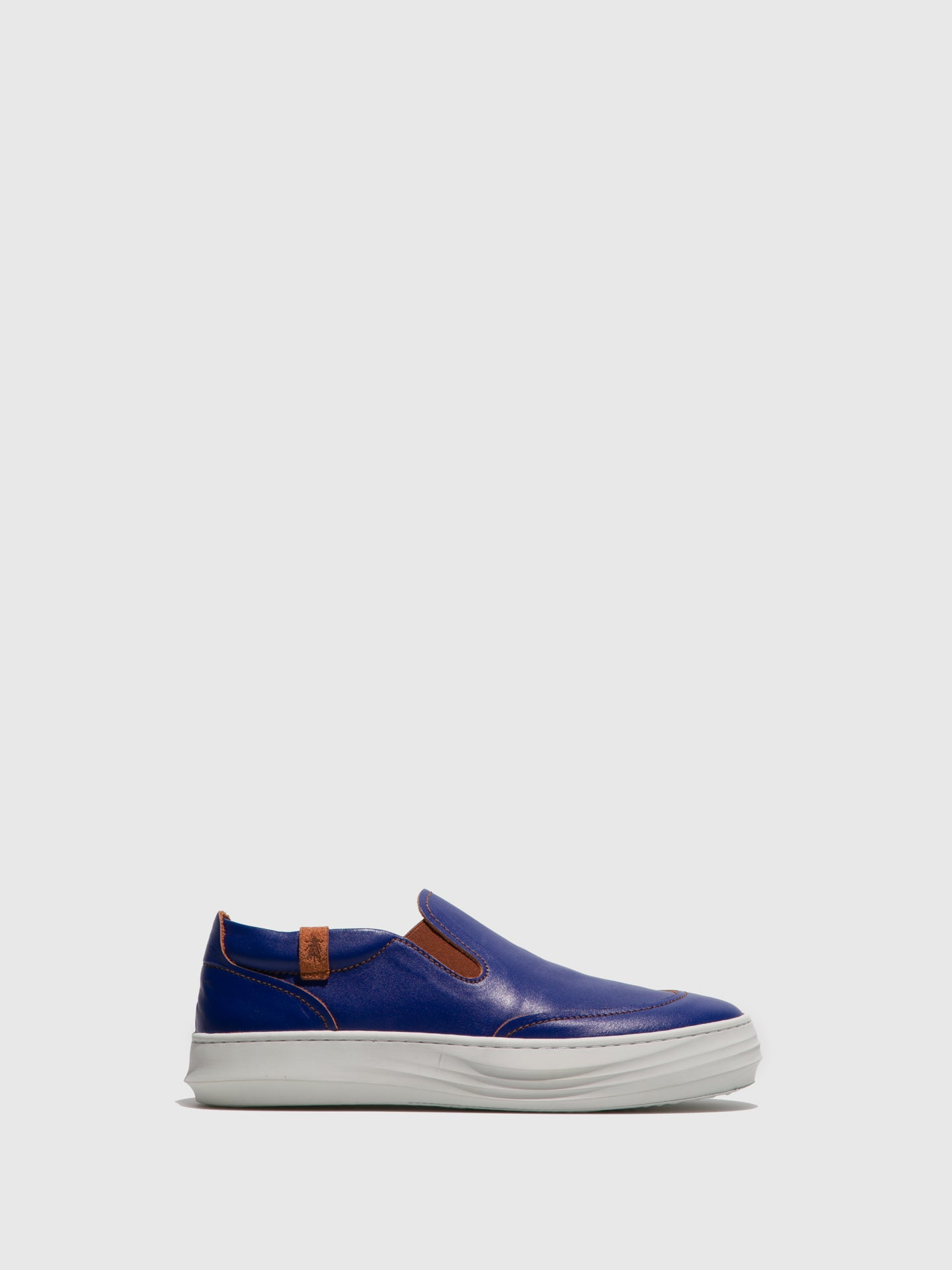 Fly London Blue Slip-on Trainers
