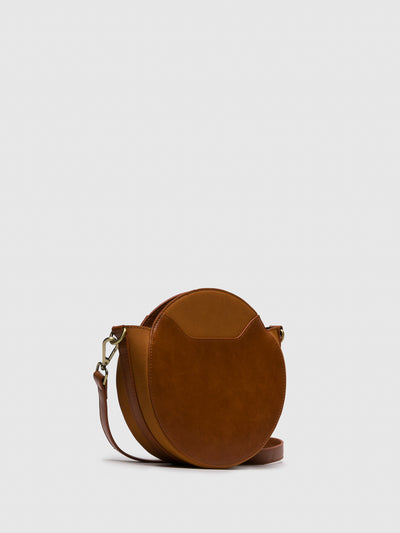 Fly London Camel Crossbody Bag