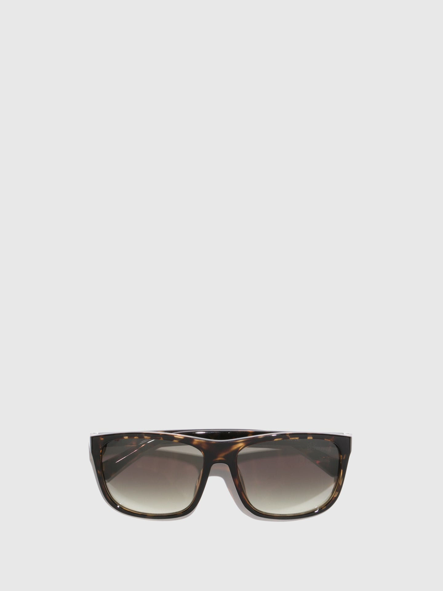 Fly London Brown Rectangular Sunglasses