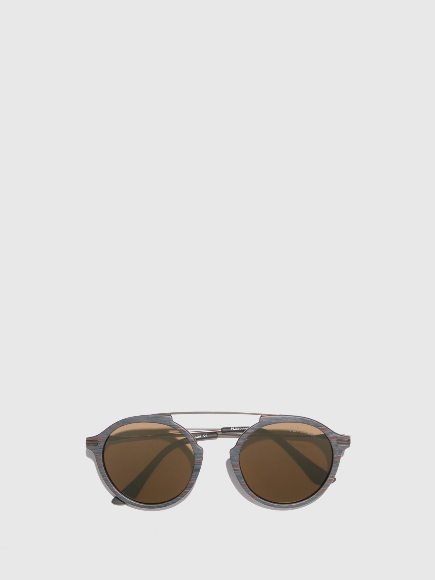 Fly London Brown Aviator Sunglasses