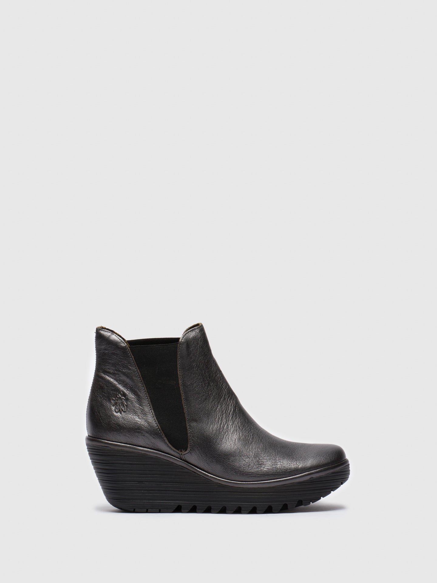 Fly London DarkGray Chelsea Ankle Boots