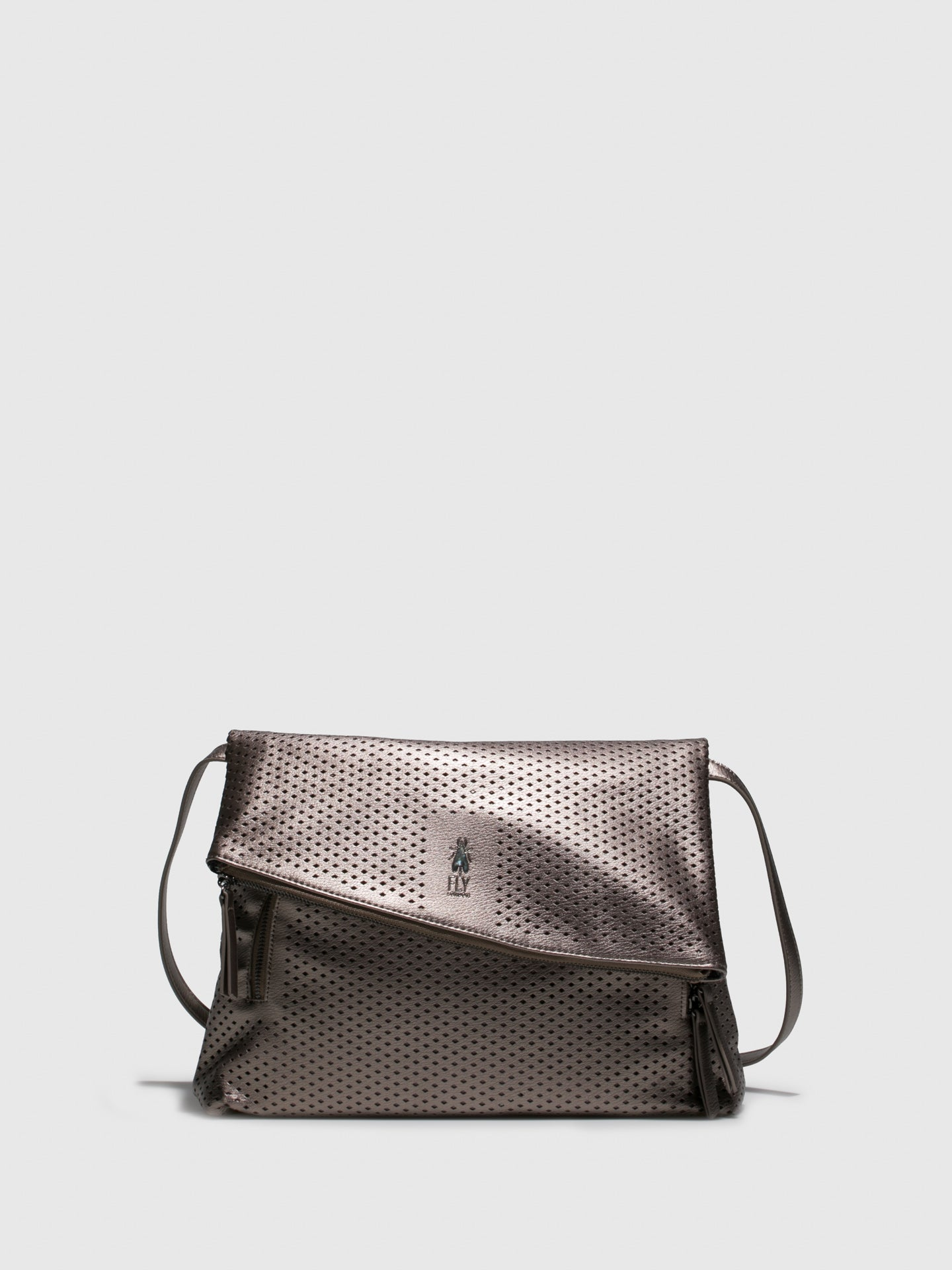 Fly London Gray Crossbody Bag